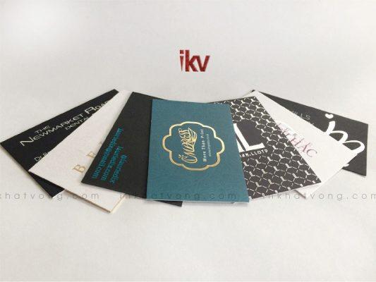 In card visit tại Hà Nội